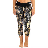 Pittsburgh Steelers Women's Thematic Capri Pants – Black