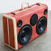 BoomCase Fire Wood Speaker - Urban Outfitters