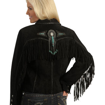 Scully Fringed Suede Leather Jacket - Sheplers