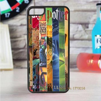 harry potter all books fashion cell phone case for iphone X 4 4s 5 5s 5c SE 6 6s 6 plus 6s plus 7 7 plus 8 8 plus #LII10003