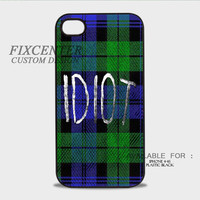5SOS idiot Plastic Cases for iPhone 4,4S, iPhone 5,5S, iPhone 5C, iPhone 6, iPhone 6 Plus, iPod 4, iPod 5, Samsung Galaxy Note 3, Galaxy S3, Galaxy S4, Galaxy S5, Galaxy S6, HTC One (M7), HTC One X, BlackBerry Z10 phone case design