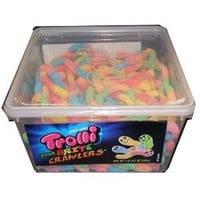 Trolli Sour Brite Crawlers, 63.5oz Tub