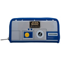Loungefly Star Wars R2-D2 Zipper Wallet -  Last One