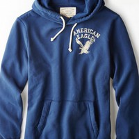 AEO Men's Signature Hooded Pop Over (Twilight Blue)