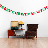 Merry Christmas B*tches Banner
