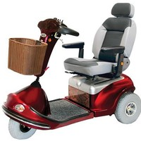 Shoprider Sprinter XL3 Deluxe 778XLSBN - Shoprider Mobility 3-Wheel Full Size Scooters | TopMobility.com