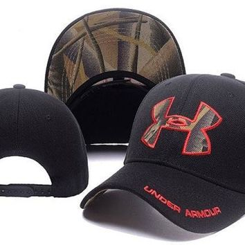LMOFN1 Perfect Under Armour Women Men Sport Embroidery Baseball Cap Hat