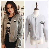 On Sale Sports Hot Deal Long Sleeve Jacket Winter Women's Fashion Embroidery Baseball [37749030938]