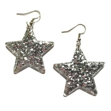 Star Shine Glitter Earrings
