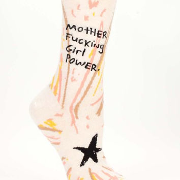 Motherfucking Girl Power Women's Socks