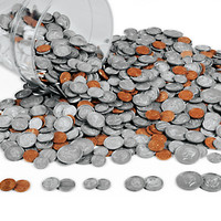 Plastic Coins at Lakeshore Learning