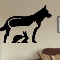 Animal Care Veterinarian Vinyl Wall Decal Sticker Car Window Truck Decals Stickers Quote