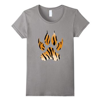 Tiger Paw Animal Print t-shirt