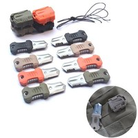 Stainless Steel Molle Webbing Buckle Outdoor Tent Accessories