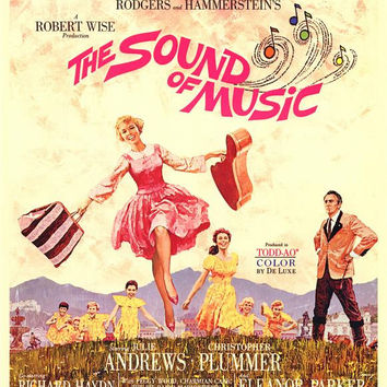 The Sound of Music 11x17 Movie Poster (1965)