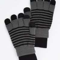 2-Pack Gray Striped Texting Gloves | Gloves & Scarves | rue21