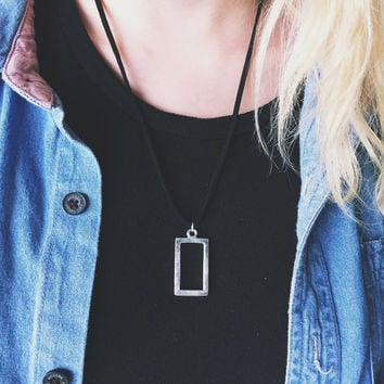 The 1975 Rectangle Necklace