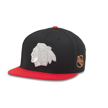 Chicago Blackhawks Silver Fox Hat