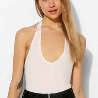 Mouchette Voop-Neck Halter Top-