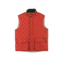 Polo Ralph Lauren Mens Quilted Patch Pocket Outerwear Vest
