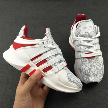 ADIDAS EQT Girls Boys Children Baby Toddler Kids Child Durable Breathable Sneakers Spo