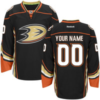 Reebok Anaheim Ducks NHL Women's Custom 2014 Premier Jersey - Black
