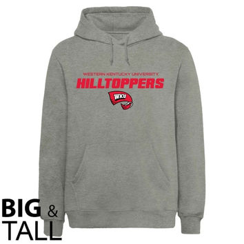 Western Kentucky Hilltoppers On Point Big and Tall Sweatshirt - Ash