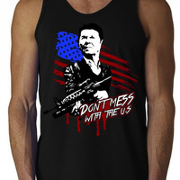 Ronald Reagan 'Don't Mess with the U.S.' Tank Top