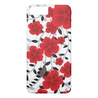 Red Flowers iPhone 8 Plus/7 Plus Case