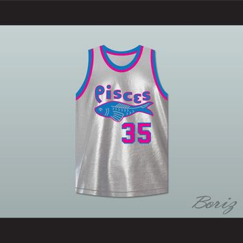 Moses Guthrie 35 Pittsburgh Pisces Basketball Jersey The Fish That Saved Pittsburgh