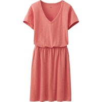 WOMEN SLUB DRESS | UNIQLO