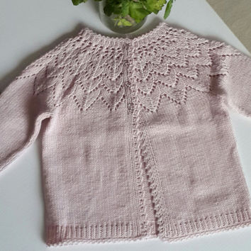 9834e7876 free shipping girl cardigan baby from NORTHsKNITTINGs on Etsy