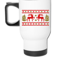 christmas sweather - Travel Mug