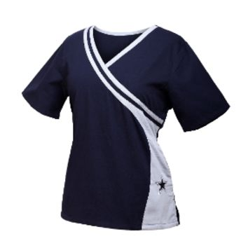 Dallas Cowboys NEW Women's NFL Scrub Top