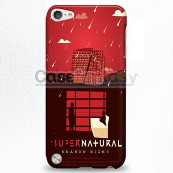 Supernatural Quote Collage iPod Touch 5 Case   casefantasy