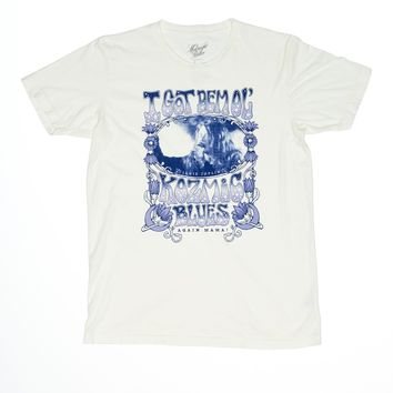 Kozmic Blues Janis Joplin Men's Tee