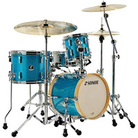 Sonor Martini SE 4 Piece Shell Pack Turquoise Galaxy Sparkle