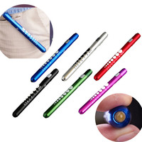 High Quality Medical First Aid LED Pen Light Flashlight Torch Doctor Nurse EMT Emergency