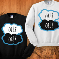 Our Second Life sweatshirt black and white size S - 3XL