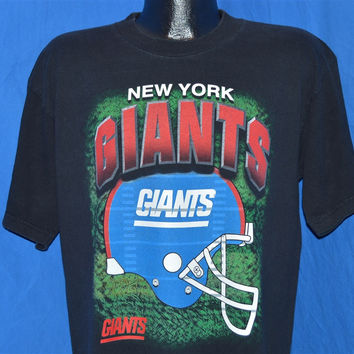 90s New York Giants Football Helmet True Fan t-shirt Large