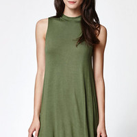 LA Hearts Mock Neck Swing Dress at PacSun.com