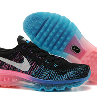 """NIKE"" new weaving rainbow running shoes sports shoes"