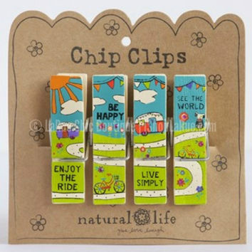 CAMPERS AND BIKES CHIP CLIPS