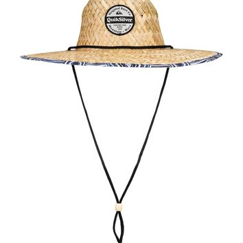 Outsider Straw Lifeguard Hat 192504381850 | Quiksilver