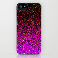 Pink Glitter Sparkle Gradient iPhone & iPod Case by xjen94