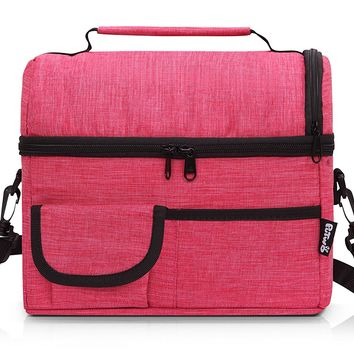 PuTwo Lunch Bag 8L Insulated Lunch Bag Lunch Box Lunch Bags Wome 76927cb80