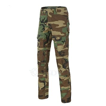 Rapid Assault multicam pants with knee pads, Camouflage tactical military clothing, paintball army cargo combat trousers