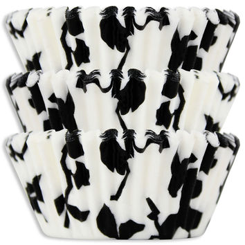 Black Ivy Baking Cups