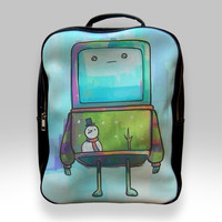 Backpack for Student - Beemo Christmas Sweater Adventure Time Bags