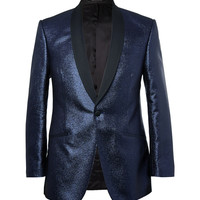 Richard James - Blue Metallic-Flecked Blazer | MR PORTER